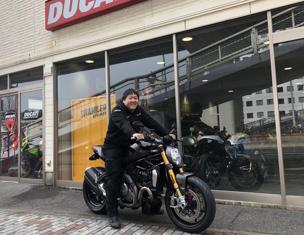 ドゥカティオーナー誕生 モンスター1200S
