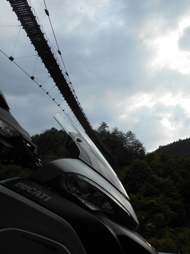 林道ソロツーリング その2 赤滝五條線