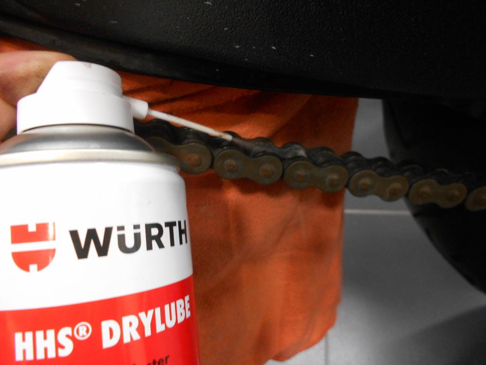 DUCATI以外の車両にもお使い下さい。WURTH(ウルト) ドライルブ