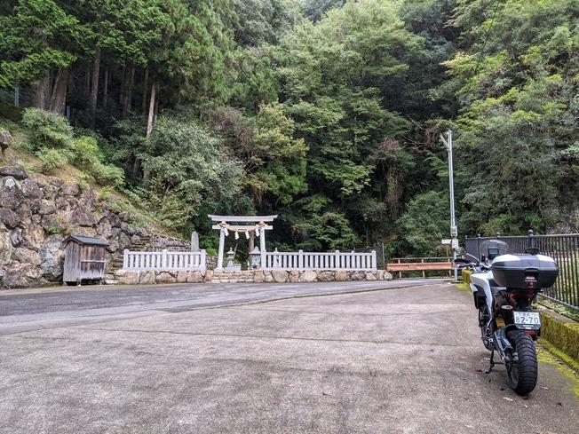 ソロツーリング【玉置神社~瀞峡~奥千丈林道(1) 】