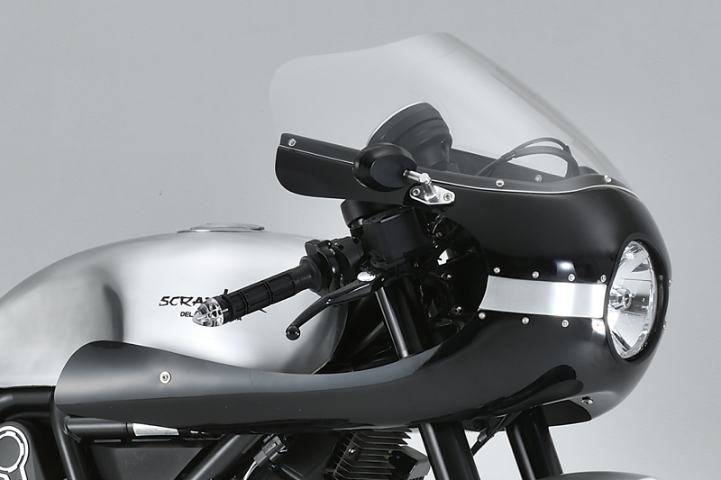 "ロケットカウル SCR de""LIGHT Cafe Racer"